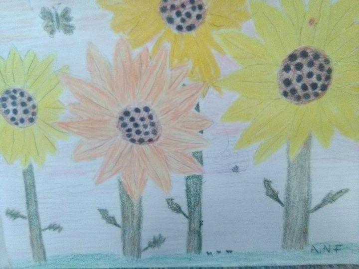 Flower garden - ashley fay