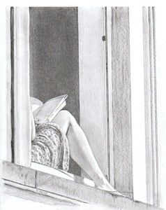 The Girl On The Window