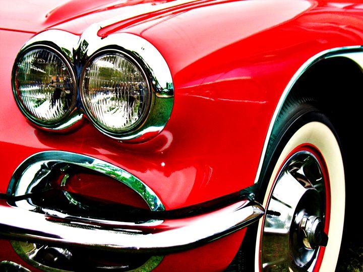 Red Corvette Headlights - Felix Padrosa