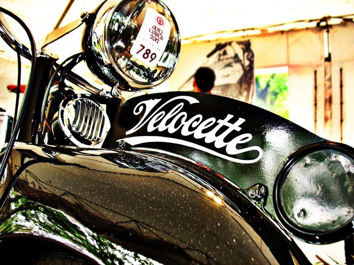 Velocette M Series vintage motorcycl - Felix Padrosa