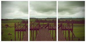 Balcony over the meadow