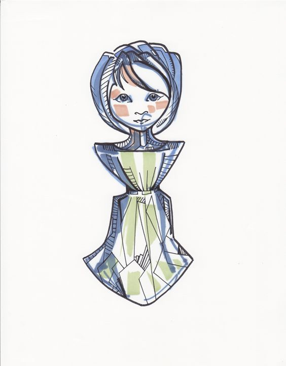 Paper Doll 2 - Aranonymous