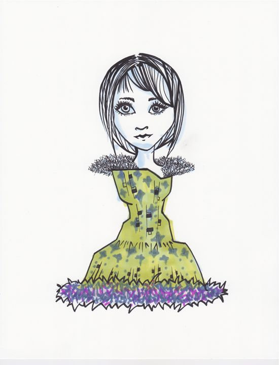 Paper Doll 3 - Aranonymous - Drawings & Illustration, People