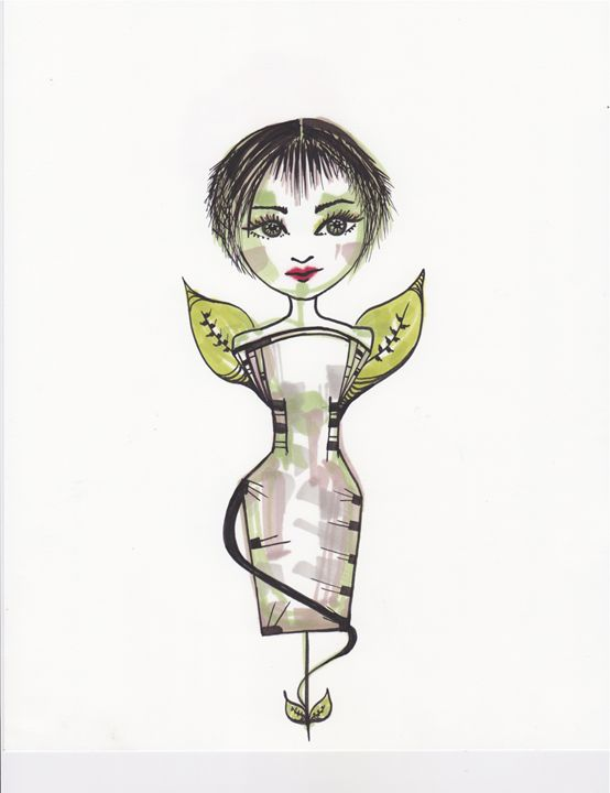 Paper Doll 5 - Aranonymous
