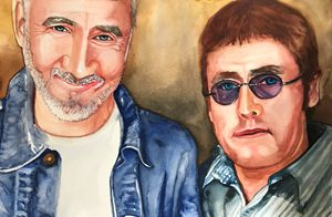 Pete Townsend and Roger Daltry