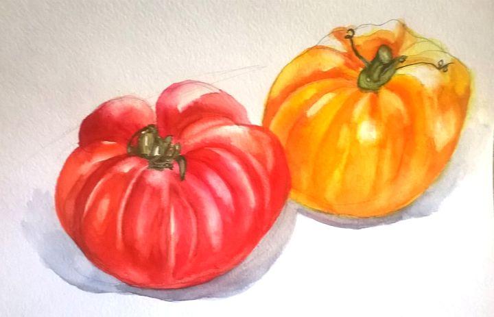 Tomatoes - Ginger Czarnecki