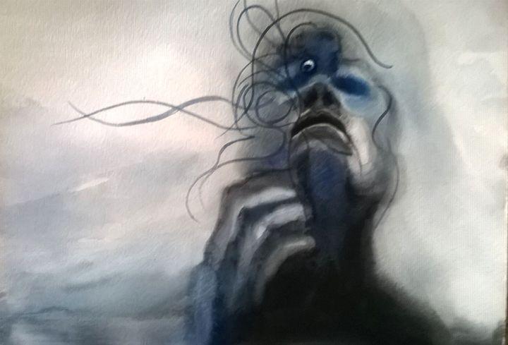 Reflections of face - Ginger Czarnecki