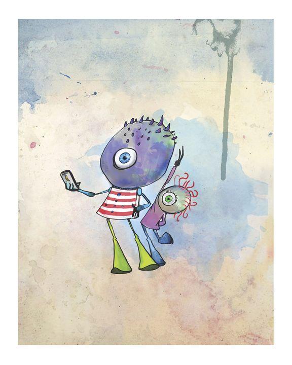 Photobomb - Creature Art