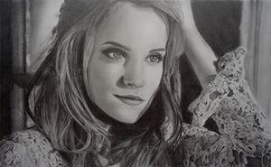 Emma Watson Portrait Drawing