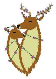 loving deer