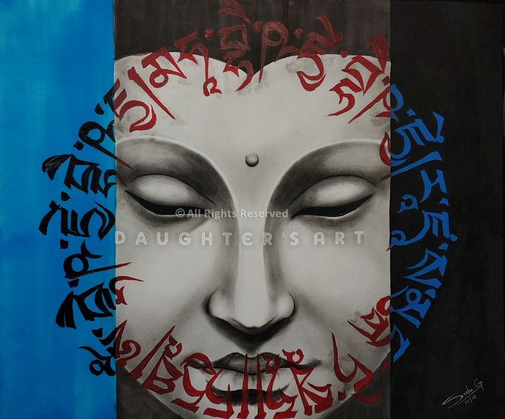 The Buddha - Daughter's Art