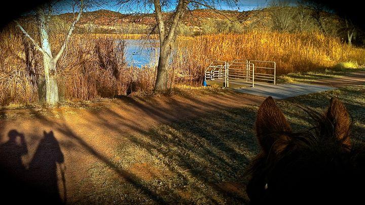 Dead Horse Park, Rider Silhouette - Nobility Ranch, Season M. Ellison