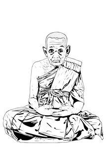 Luang Pu Thuat, buddhist monk