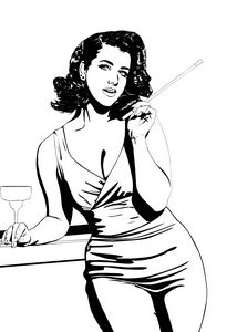 Pinup in the 60's