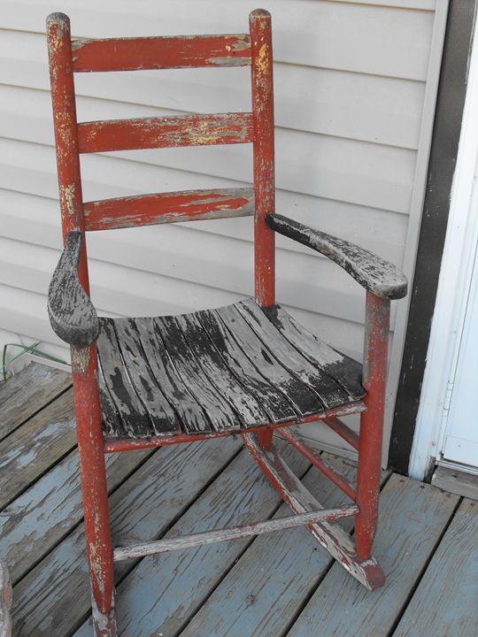 Old Rocking Chair - Making the Impact
