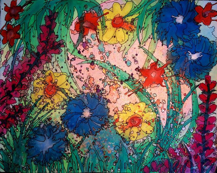 Wildflower Confetti - Anna Savage Fine Art