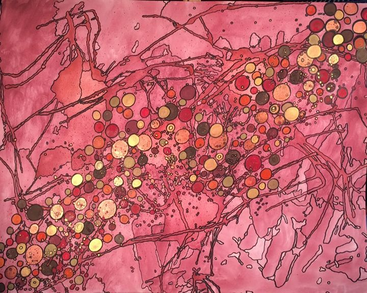 The Art is in our Bloodstream - Anna Savage Fine Art