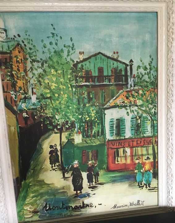 Montmartre In Paris By Maurice Utril - Beauty Glam