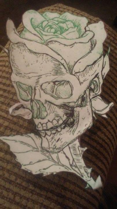 Skull, tattoo - My art