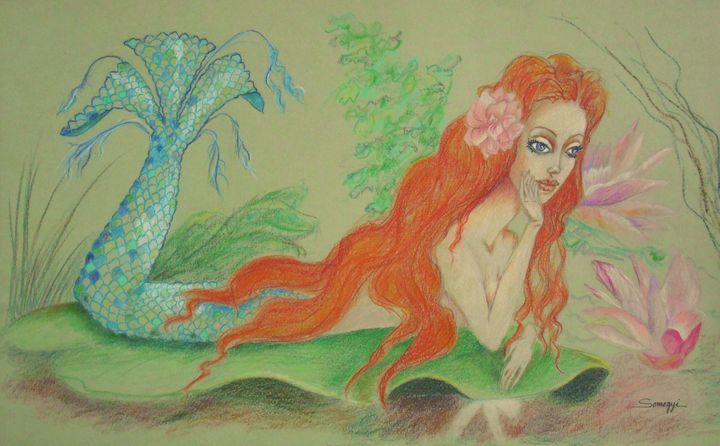 Sea Siren, Resting - Somogyi
