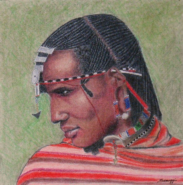 Maasai Warrior - Somogyi