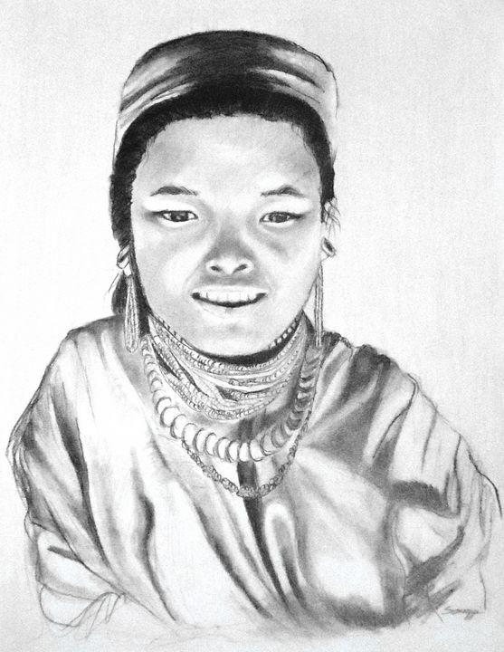 Thai Girl c. 1980 - Somogyi