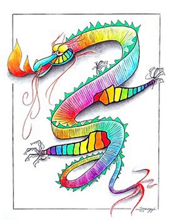 Technicolor Dragon - Somogyi