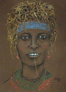 Dassanech Woman, Ethiopia