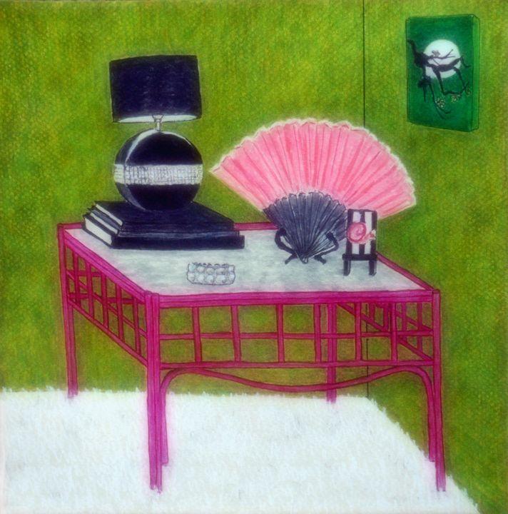 Bamboo Table - Somogyi
