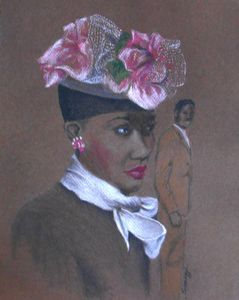 Admirer, 1947 Easter Bonnet