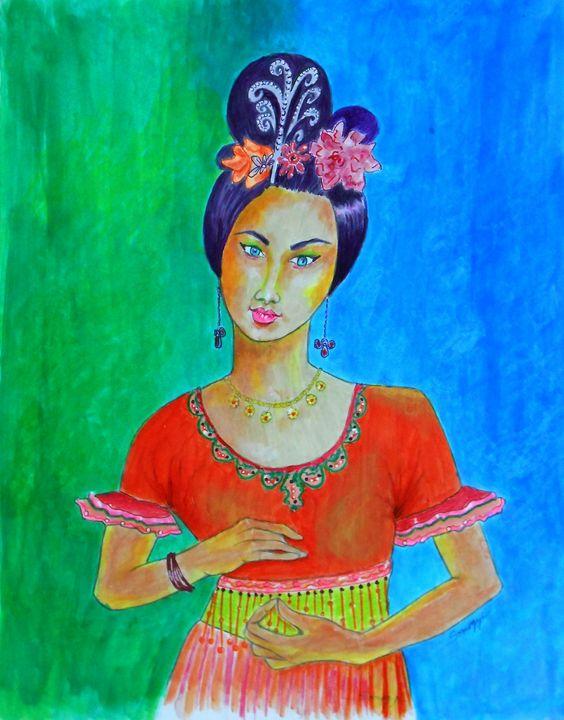 Chinese Dancer - Somogyi