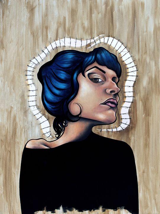 ¿Y Qué? - Marcelina Gonzales Art