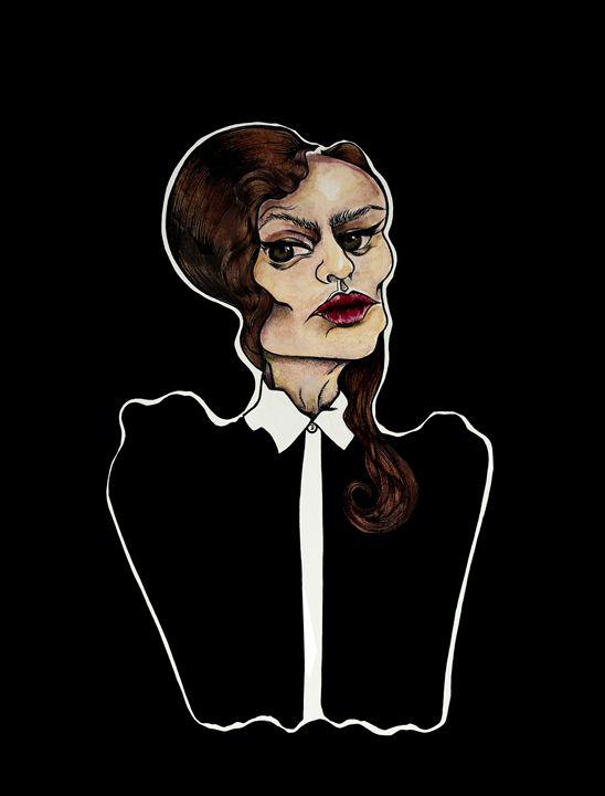 Discontentment - Marcelina Gonzales Art