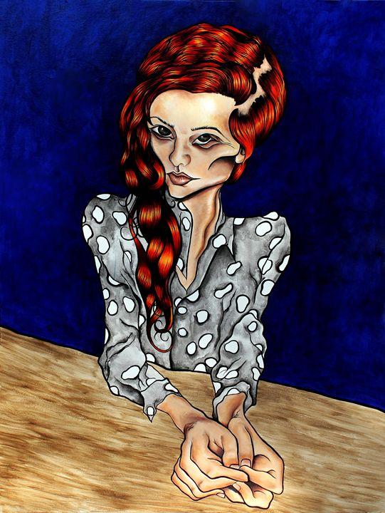 The Boss - Marcelina Gonzales Art