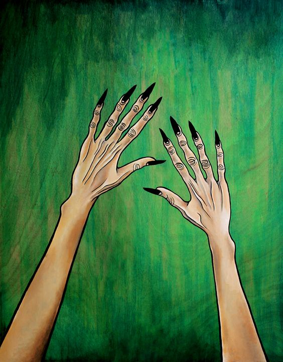 With My Arms Up! - Marcelina Gonzales Art