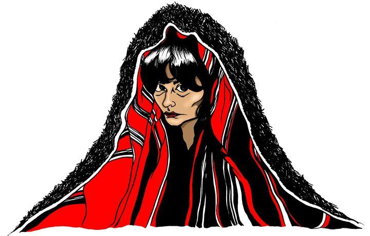 Mountain of a Woman - Marcelina Gonzales Art