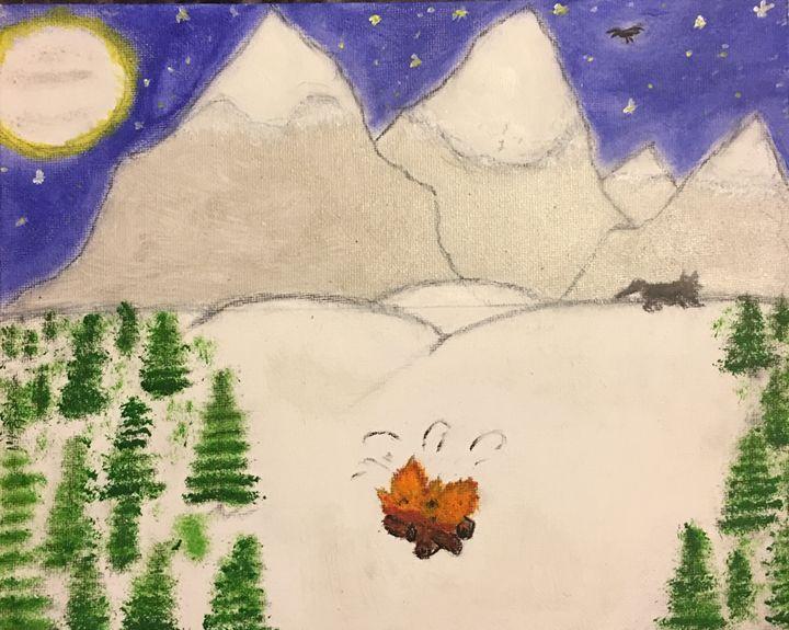 Snow capped Mountain - Nina Renae Collection