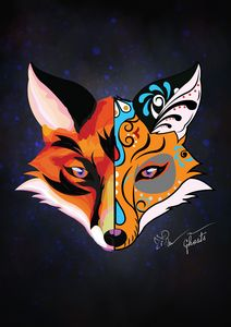 Two face Fox
