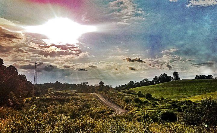 Sunset over the hills - EandCNov3