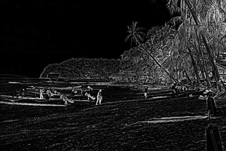Puerto Galera Moonlight Beach - chachiecoco
