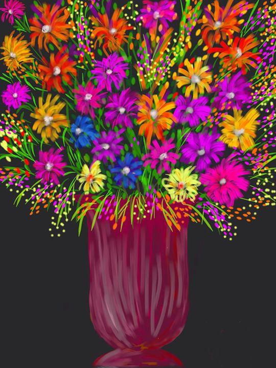 Flower Vase - Creatiive Art