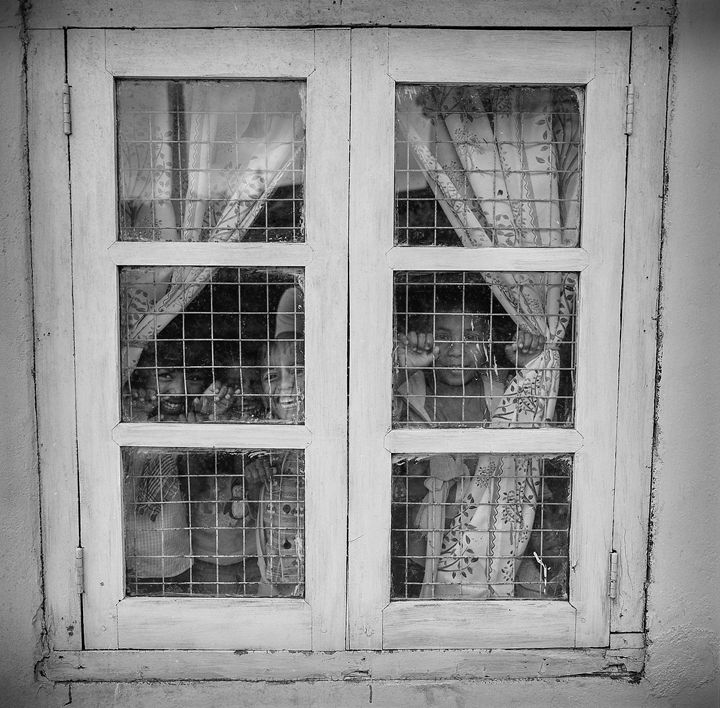 the Labookellie School window. - Franck Rondello Photography