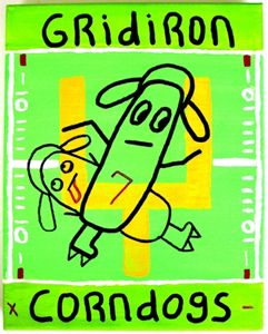 Gridiron Corn Dogs
