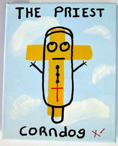 The Priest Corn Dog