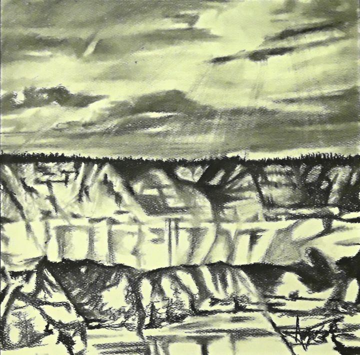 Crayon Wall - Aaroncesh Art