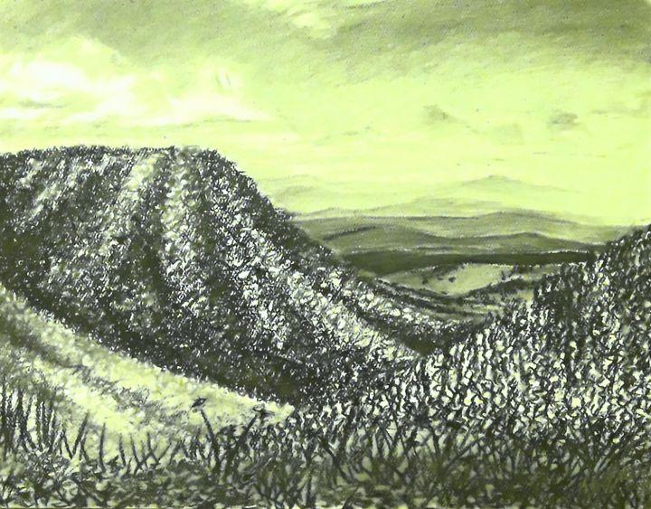 Mountain Horizons - Aaroncesh Art