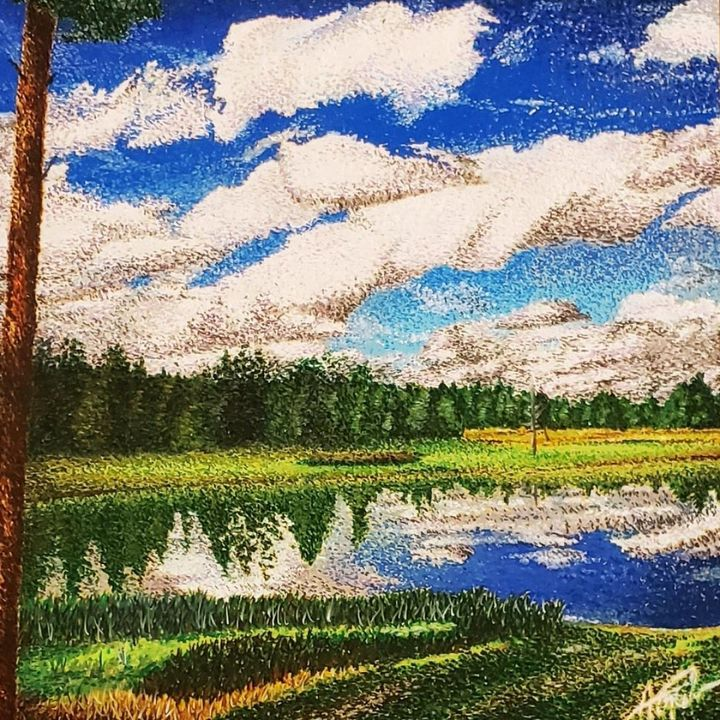 Calm Water - Aaroncesh Art