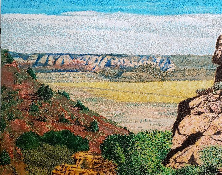 A View of Verde Valley - Aaroncesh Art