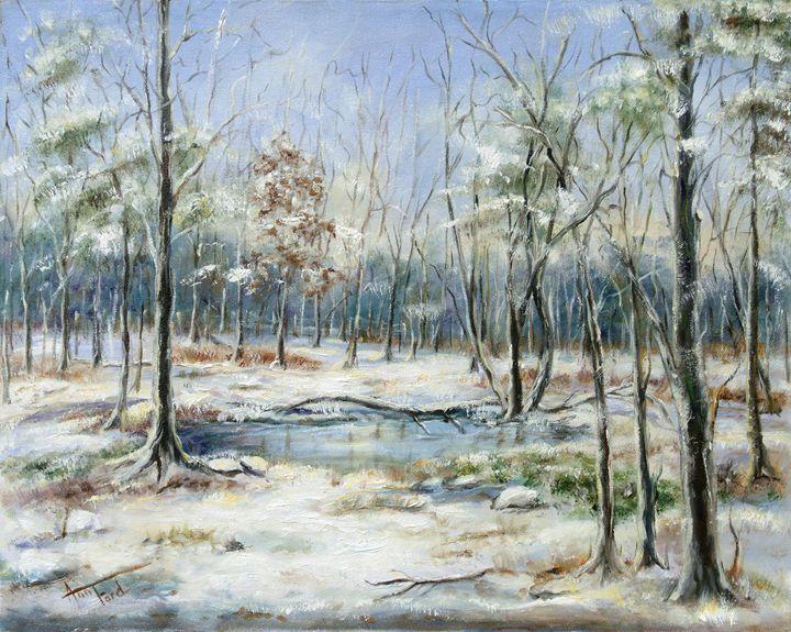 Hyde's Pond - Ann Ford Fine Art