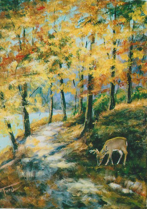 Forager - Ann Ford Fine Art